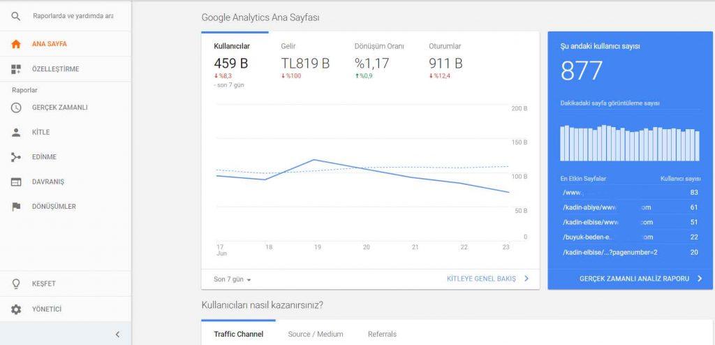 google-analytics-web-sitesinden-para-kazanmak