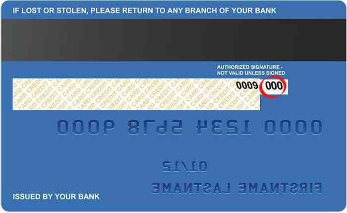 kredi karti guvenlik kodu